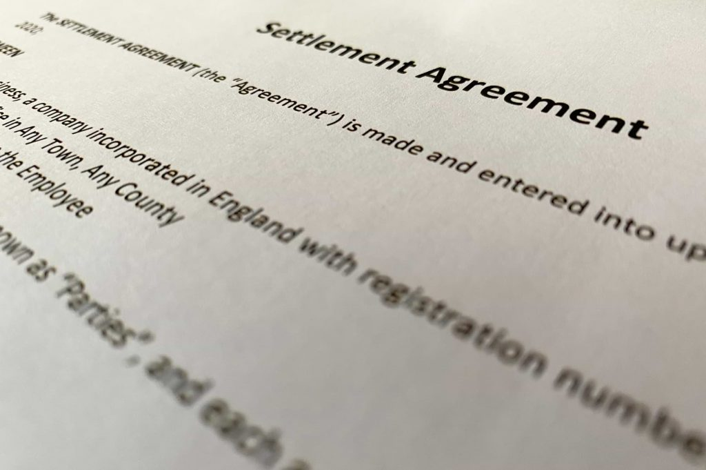 Stirling Careers Consultancy Settlement Agreement